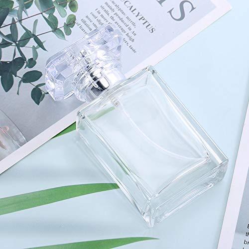 Bouteille de parfum vide confiant, verre de bouteille d'atomiseur de parfum de 30 ml