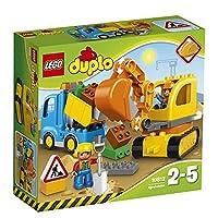 LEGO Duplo 10812 - Bagger und Lastwagen, Ideales Geschenk für 2 Jährige