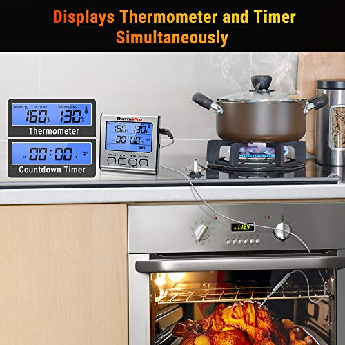 ThermoPro TP-17 Dual Probe Digital Cooking Thermometer