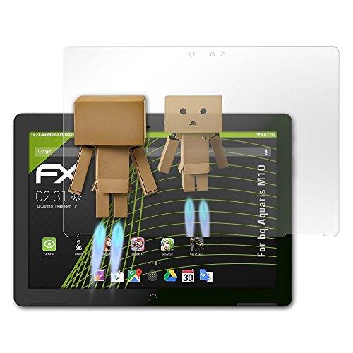 atFolix Bildschirmfolie kompatibel mit bq Aquaris M10 Spiegelfolie, Spiegeleffekt FX Schutzfolie