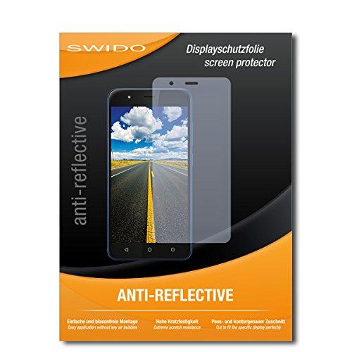 SWIDO Bildschirmschutz für Gigaset GS270 Plus [4 Stück] Anti-Reflex MATT Entspiegelnd, Hoher Festigkeitgrad, Schutz vor Kratzer/Glasfolie, Schutzfolie, Bildschirmschutzfolie, Panzerglas Folie