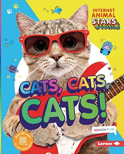 Cats, Cats, Cats! (Internet Animal Stars) (English Edition)