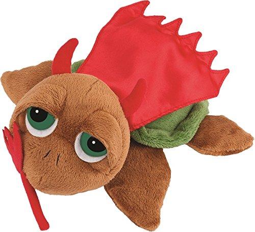 Li'L Peepers - 'Li'L Devil' Large Brown Devilish Turtle By Suki Gifts
