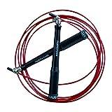 faustcatcher 360° alluminio speed rope - perfetto per crossfit e double unders - incluso gratis borsa per il trasporto