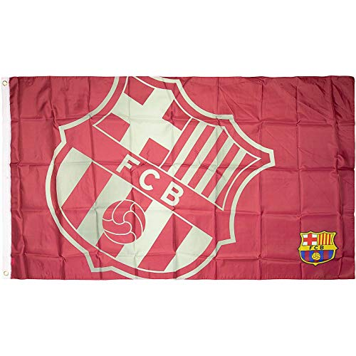 Brandunit FC Barcelona Flagge Fahne 90x150cm (one Size, red)