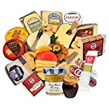 Ultimate Gourmet Sampler 10 lb. - 17 Meats, Cheeses, Nuts, Jams, Crackers, Spreads – Salami,...