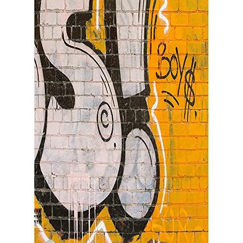 Vinilo personalizado vintage ladrillo pared fotografía fondos piso madera fondo estudio Prop A3 1.5x1m