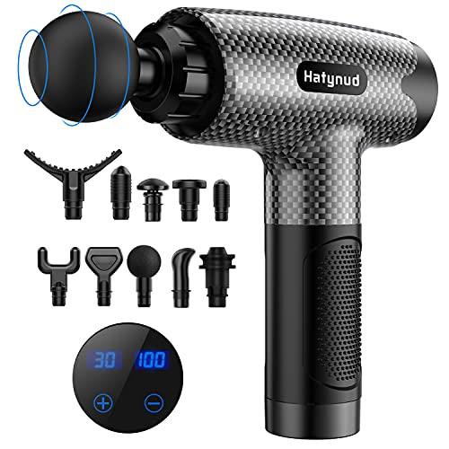 Massage Gun- Deep Tissue Massage Gun for Athletes, Percussion Muscle Massager Gun for Pain Relief,...