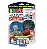 Bonanza Build BZ2M1-MC12/6 (Bonus Base Plate) Self Adhesive Tape Works Building Block Tape, Blue/Red/Grey/Green, N/A