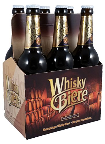 Whisky Stout Dunkel Craft-Bier (8,5% vol) mit Single Malt Whisky 6 x 0,5l