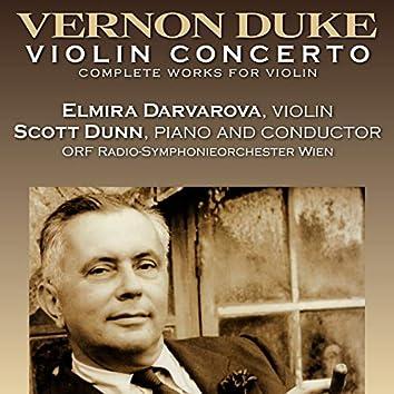 Vernon Duke: Violin Concerto, Complete Music for Violin