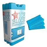 Paquete de 3 bloques de congelador – mantiene su comida o bebidas frescas en días calientes