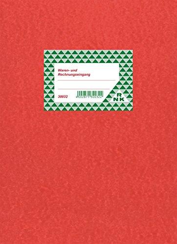 RNK - 30032 goederen- en rekeningeninvulboek voor netto boeken, gekartonneerd, DIN A4, 30Bl