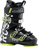 Rossignol Evo 70 Ski Boots Black/Yellow Mens Sz 10.5 (28.5)