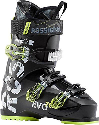 Rossignol Evo 70 Ski Boots Black/Yellow Mens Sz 14.5 (32.5)