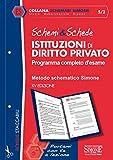Schemi & schede di istituzioni di diritto privato. Programma completo d'esame...