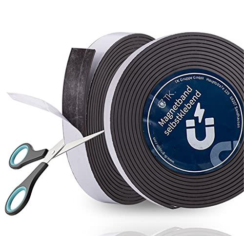 3 metros cinta adhesiva magnética tiras magnéticas cinta de metal cinta de lámina magnética cinta adhesiva cinta magnética cinta adhesiva autoadhesiva
