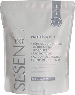 SESĒN Suplemento Alimenticio Proteína ISO + Colágeno Hidrolizado sabor Horchata 750g