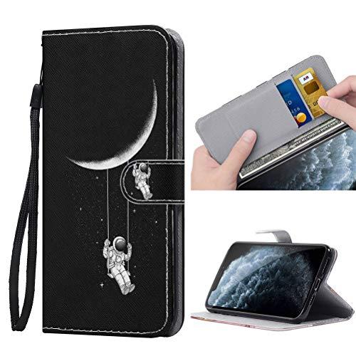 ZhuoFan Funda para iPhone SE 2020/7 / 8 Carcasa de Cuero PU con Tapa Flip Case con Soporte/Ranura de Tarjeta Cubierta Premium Magnético Suporte TPU Protectora para iPhone 7/8 / SE 2020 4,7', Negro