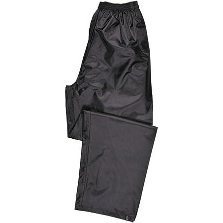 Portwest Pantaloni Impermeabili Classic, Colore: Nero, Taglia: XXL, S441BKRXXL