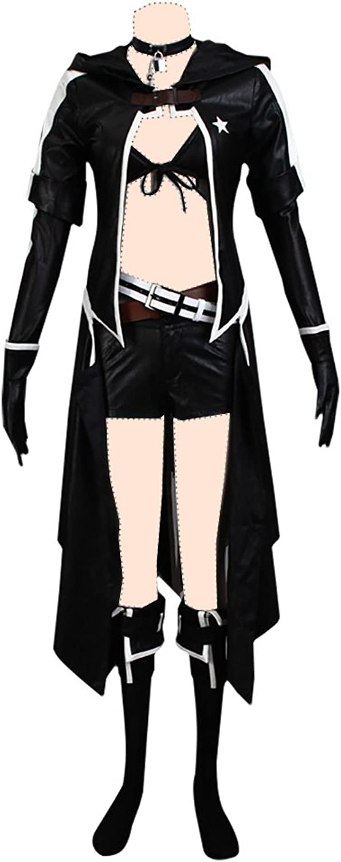 varios tamaños negro Rock Shooter Shooter Shooter cosJugar costume negro Rock Shooter Ver.2 Suits Large  hermoso