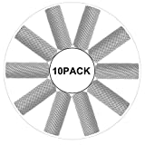Biange Cooling Towel (10 Pack) for Sports, Workout, Fitness, Gym, Yoga, Golf, Pilates, Travel, Camping & More (Gray)