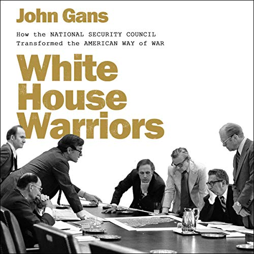 White House Warriors audiobook cover art