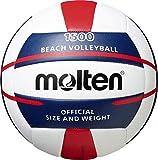 Molten V5B1500-WN - Pallone da pallavolo, 5 pezzi, colore: Bianco/Blu/Rosso...