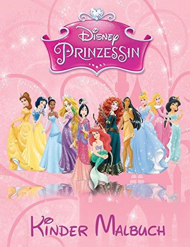 Disney Prinzessin Kinder Malbuch: Diese A4 113 Page Kinderfärbung Buch hat fantastische Bilder alle Disney Prinzessin für Sie zu färben, sie gehören ... Mulan, Pocahontas, Rapunzel and Snow White.