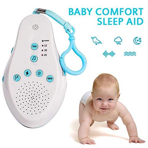 POIUYT Baby Sleep Apparatus New Intelligent White Noise Machine Nature Sound Sleep Comforting Music Sleep Aid Apparatus Hypnosis