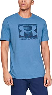 Under Armour UA BOXED SPORTSTYLE Short Sleeve, Stylish and Comfortable T Shirt for Men, Breathable Gym and Fitness Clothin...