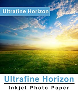 Ultrafine Horizon Professional Grade Photo Quality Luster Inkjet Paper 10.2 Mil 260g 8.5 x 11/100 Sheets