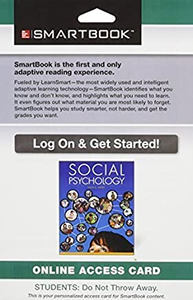 SmartBook Access Card for Social Psychology by David Myers (2013-05-14)