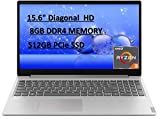 2020 Lenovo IdeaPad 15.6' FHD Laptop Computer, AMD Ryzen 3 3200U, 8GB RAM, 512GB PCIe SSD, Dolby Audio, AMD Radeon Vega 3 Graphics, Webcam, HDMI, Win 10 S, Gray, 32GB E.S USB Card
