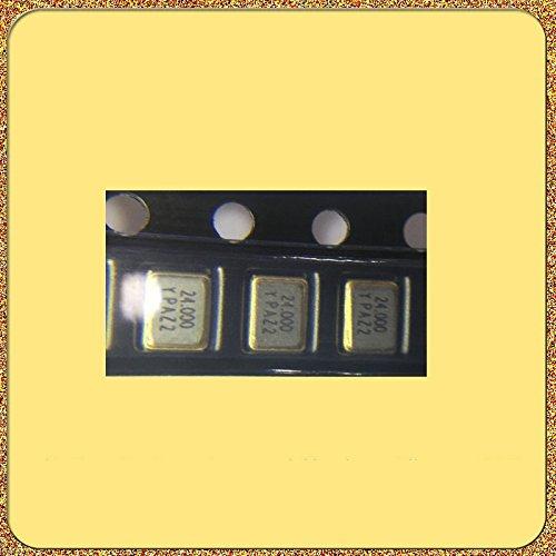 HUABAN 10PCS Industrial Grade SMD Resonator JYXT32S4-024.00000-9FE4B0 3225 24Mhz 20PF ±10ppm -40 to +85degree Passive Crystal