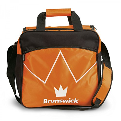 Bowling-Ball Tasche Brunswick Blitz Single Tote für Bowling-Kugel und Bowling-Schuhe , Farbe:Orange