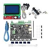 MERIGLARE Kit de Impresora 3D Smoothieboard 5X V1.1 + Pantalla LCD 12864 +