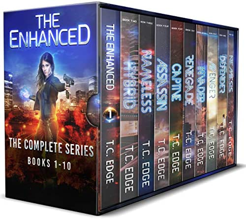 The Enhanced Series Box Set The Complete Dystopian Series Books 1 10 product image