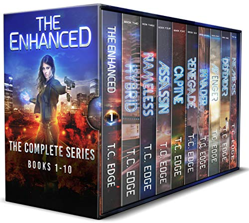 The Enhanced Series Box Set: The Complete Dystopian Series - Books 1-10 by [T.C. Edge]