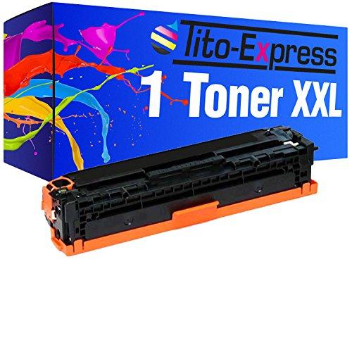 Tito-Express PlatinumSerie 1 Toner-Kartusche XL Black für HP CE320A 128A Laserjet Pro CP1525 CP1525N CP1525NW CM1415FN CM1415FNWHP