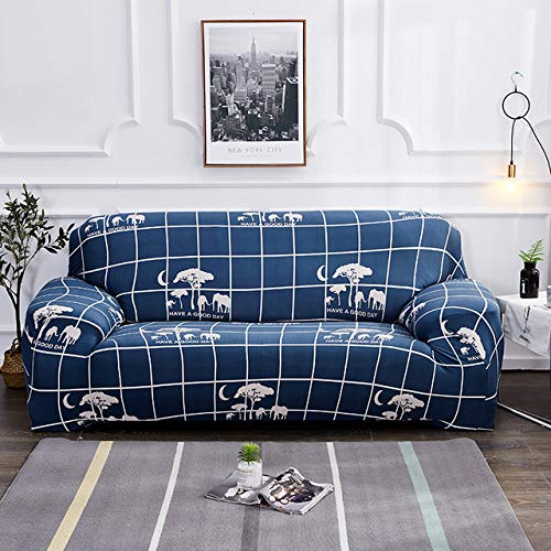 YYMMQQ Sofabezug,New Elastic Cover for Sofa Armchair Couch Living Room Furniture Cover Stretch Couch Cover Case Sofa Slipcover 1/2/3/4 Seater,15,Pillowcase x 2