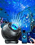 Galaxy Light Projector, Lupantte Laser Star Projector, LED Nebula Cloud Light for Adults/Kids, Starry Night Light Projector with Bluetooth Music Speaker & Remote Control for Bedroom/Party Decor