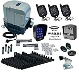 800KG Sliding Gate Automation All In One System Wireless Controller Kit with Soft