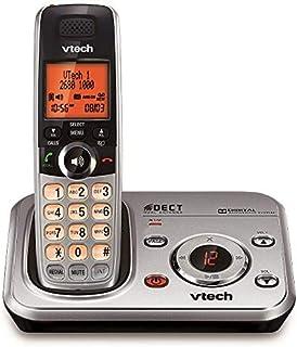 Vtech Digital Cordless Phone with Power Fail Back Up - Silver [CS6329]
