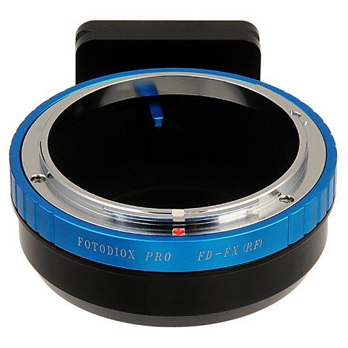 Fotodiox Pro Lens Mount Adapter, Canon FD (FD & FL) Lens to Fujifilm X (X-Mount) Camera Body, for Fuijifilm X-Pro1, X-E1 with Arca-Swiss Tripod Mounting Slits