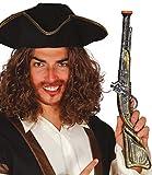Mens Ladies Large Toy Plastic Pirate Blunderbuss Pistol Gun Weapon Prop TV Book Film Fancy Dress Costume Accessory