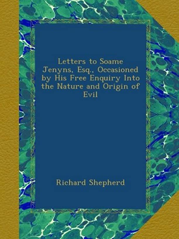 特別に自分パンチLetters to Soame Jenyns, Esq., Occasioned by His Free Enquiry Into the Nature and Origin of Evil