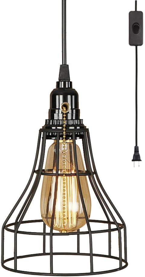 EFINEHOME 1 Light Hanging Swag Lamp with Ft Plug SALENEW very popular O 15 in On Max 78% OFF Cord
