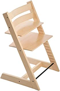 Wooden Highchair Adjustable Children's Dining Chair Baby Dining Table Seat Baby Household High Chair Solid Beech Dining Ch...