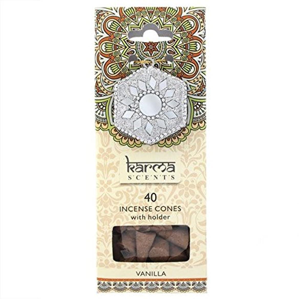 商品イブパパKarma Vanilla Incense Cones Gift Set